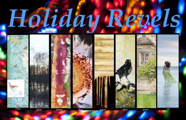 Holiday Revels 2015 postcard from MS Rezny Studio Gallery