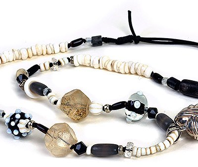 Talisman for Love, bead necklace by Kathleen O'Brien