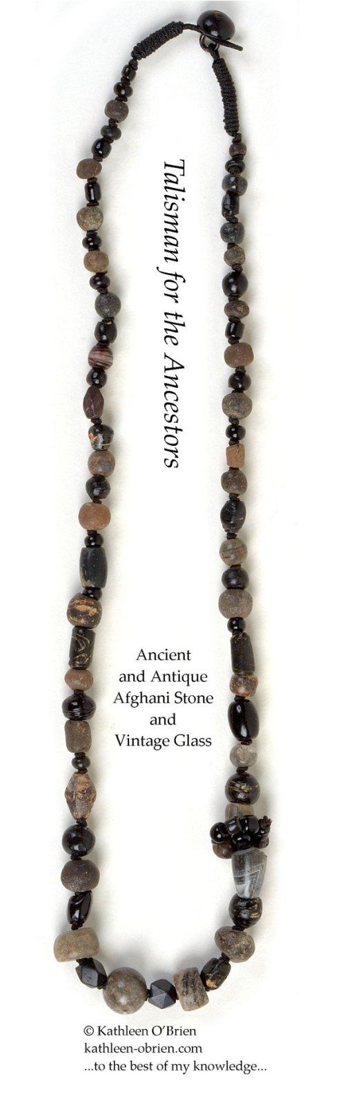 Talisman for the Ancestors, necklace bead ID by Kathleen O'Brien