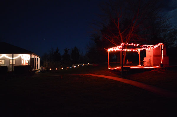 Solstice Lights at Sunwise Farm and Sanctuary, Greg Orth