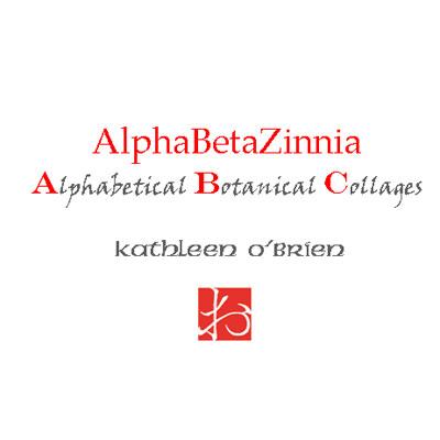 AlphaBetaZinnia booklet by Kathleen O'Brien