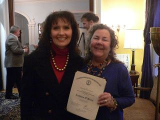 2012 Al Smith Fellowship, Kentucky Arts Council, with Rep. Kim King at Arts Day