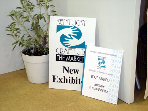 2004 Best New In-State Exhibitor, Kentucky Crafted: the Market