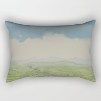 Cloud Pillow on society6 site, by Kathleen O'Brien