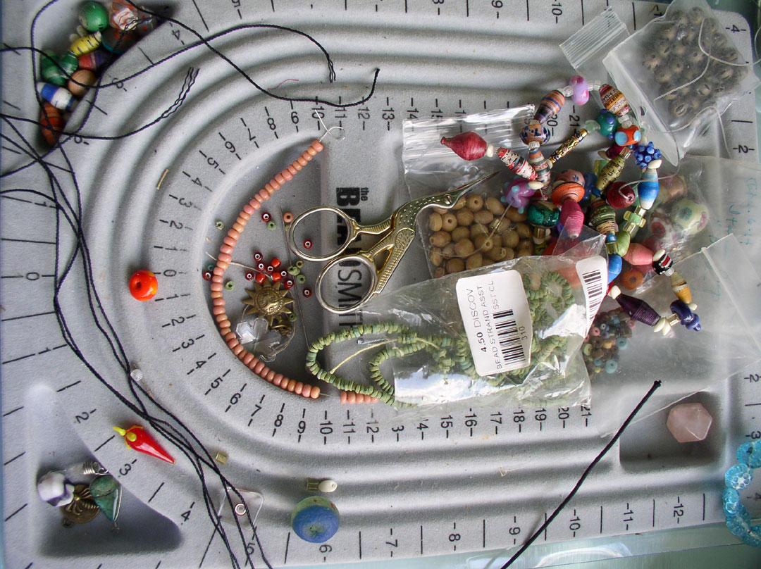 Beads in Kathleen O'Brien Studio