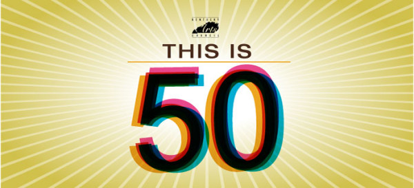 """""""This is 50 """" Kentucky Arts Council banner"""