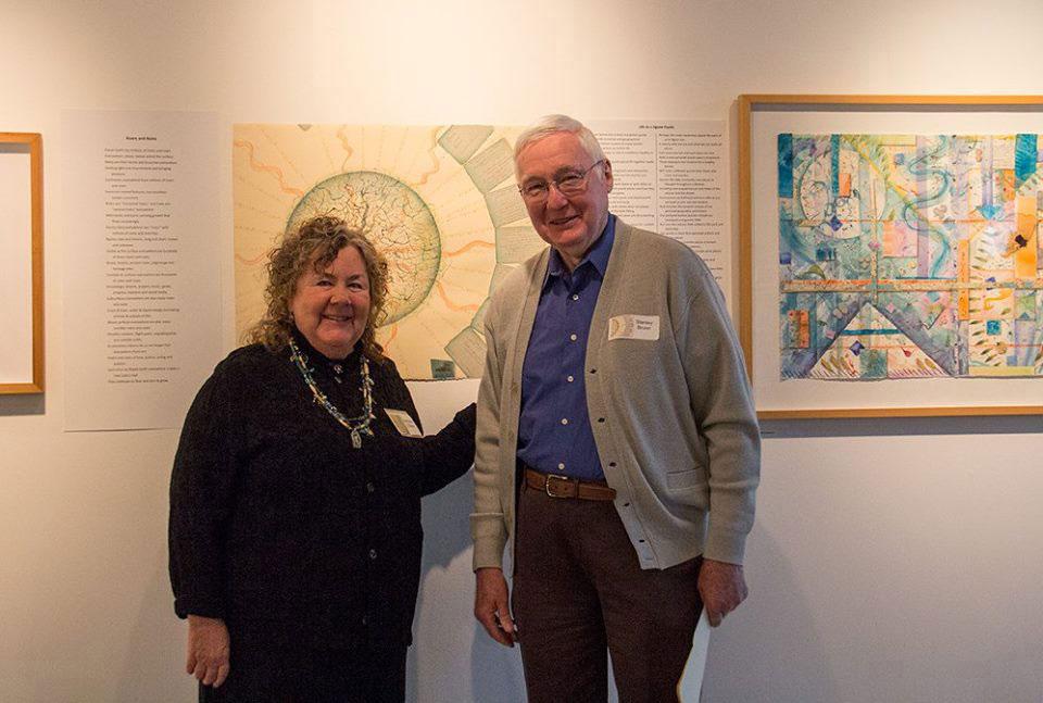 Stan Brunn and myself, photo credit Melissa Hall