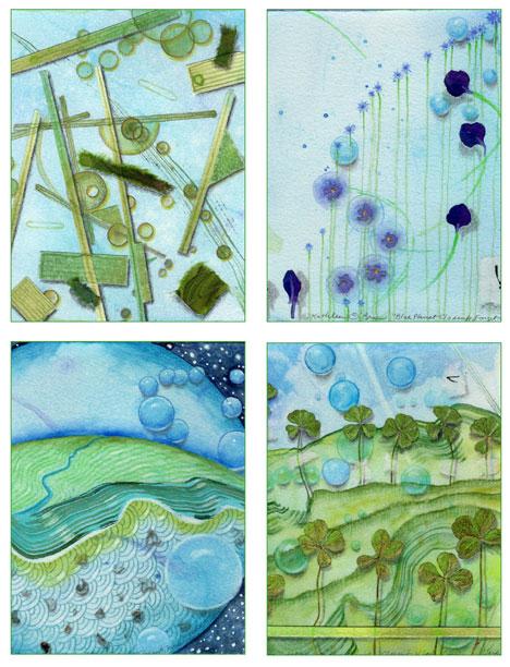 04 Blue Planet Card Set, Kathleen O'Brien
