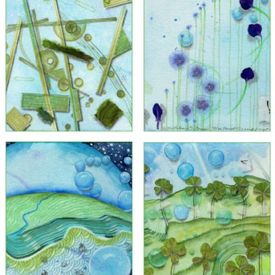 04 Blue Planet Card Set, Kathleen O'Brien