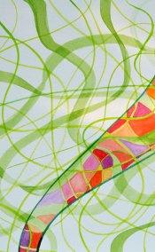 AKA Threads 2 Ribbon detail by Kathleen O'Brien