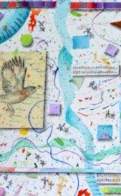 Lilac Ribbon detail by Kathleen O'Brien