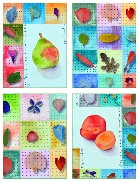 Summer Studies card set by Kathleen O'Brien