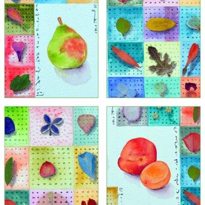 Summer Studies card set by Kathleen O'Brien