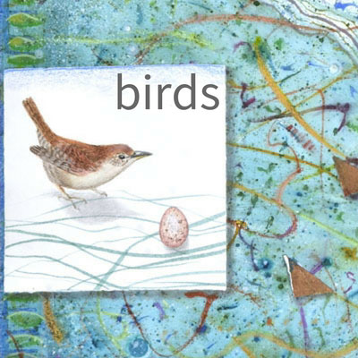 Kathleen O'Brien birds of a feather art portfolio