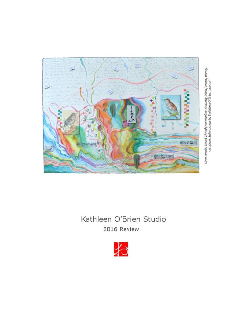 Cover of the 2016 Review by Kathleen O'Brien