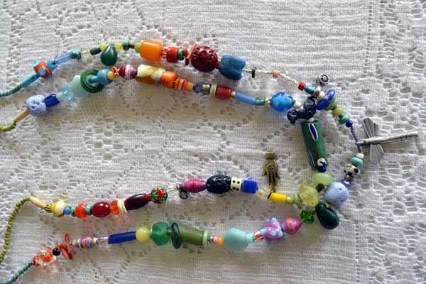 Healing Necklace 1 & 2 by Kathleen O'Brien