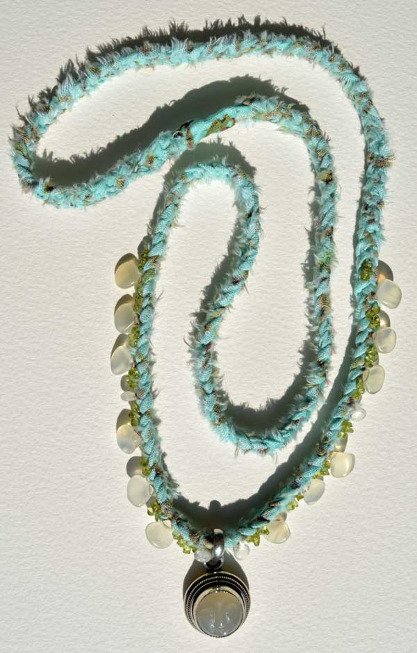 Healing Necklace 7 by Kathleen O'Brien