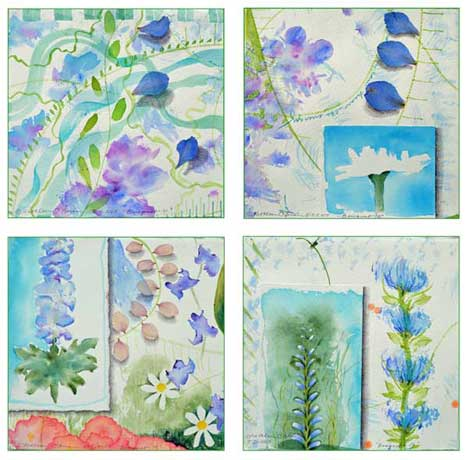 Bouquet Card Set 2 by Kathleen O'Brien