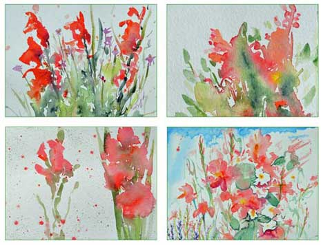 Bouquet Card Set 1 by Kathleen O'Brien