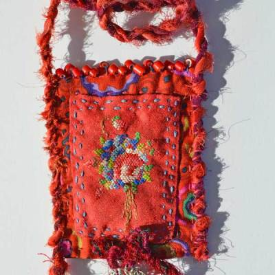 Talisman for Affection, necklace by Kathleen O'Brien