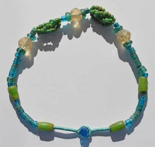 Talisman for Longevity 2, necklace by Kathleen O'Brien_