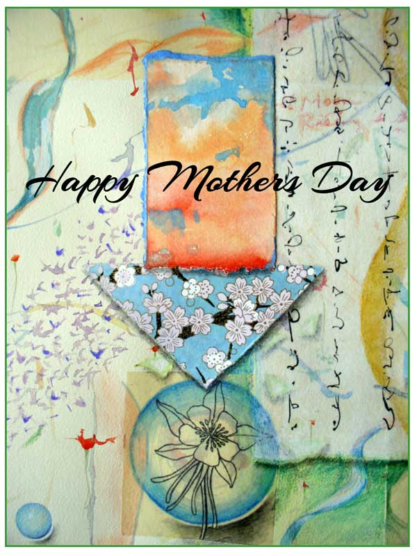 Happy Mothers Day card #331 by ©Kathleen O'Brien