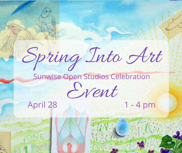 At Spring Into Art you'll find a big surprise, new art, jewelry, cards and products by Kathleen O'Brien