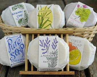 Sunflower Sundries soaps, photo used with permission