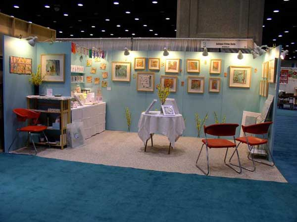© Kathleen O'Brien, Exhibitors Choice Award Booth at Kentucky crafted; the Market, 2010