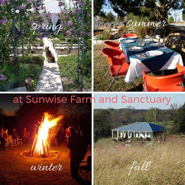 4 Seasons at Sunwise Farm and Sanctuary, 2018