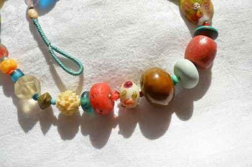 © Kathleen O'Brien, Healing Necklace 17, detail 2