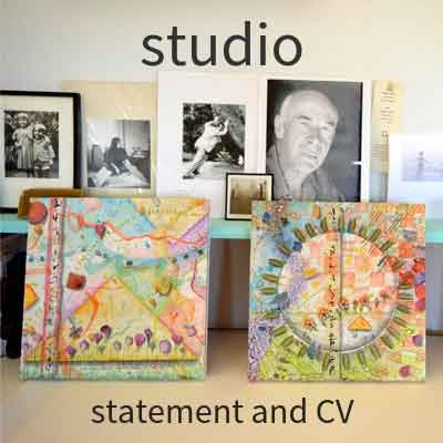 Kathleen O'Brien Studio slideshow, statement, CV, review