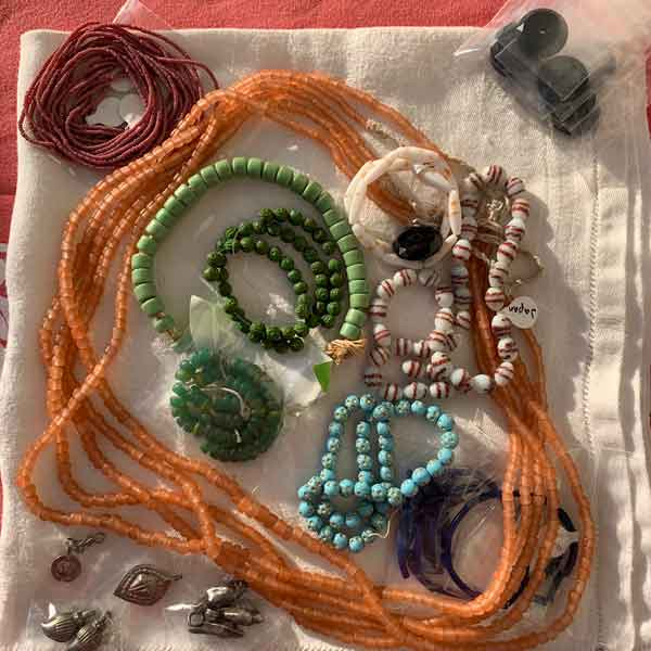 New Christmas Beads, stay tuned for new bead jewelry!