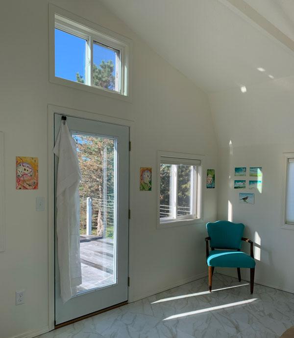 Open Studio, Front Room of the studio Annex