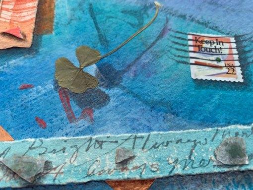 """©Kathleen O'Brien, """"Little Love Letter 34"""" detail"""