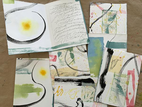 Sun Book components, ©Kathleen O'Brien