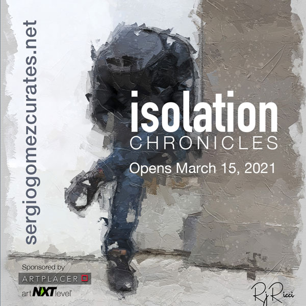 Isolation Chronicles exhibit