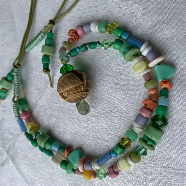 Talisman for Home, necklace by Kathleen O'Brien
