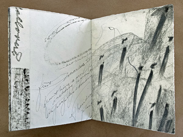 """pages from """"Seeing Both Sides"""" by Kathleen O'Brien"""