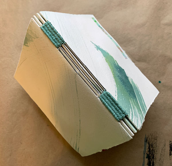 """""""There Is No Hurry"""" book, front, back & spine, by Kathleen O'Brien"""