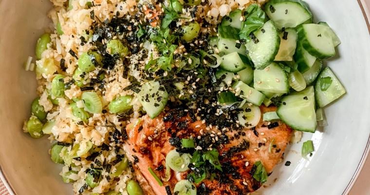 Easy Teriyaki-Glazed Salmon Bowls
