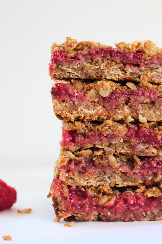 Raspberry Picnic Pie Bars