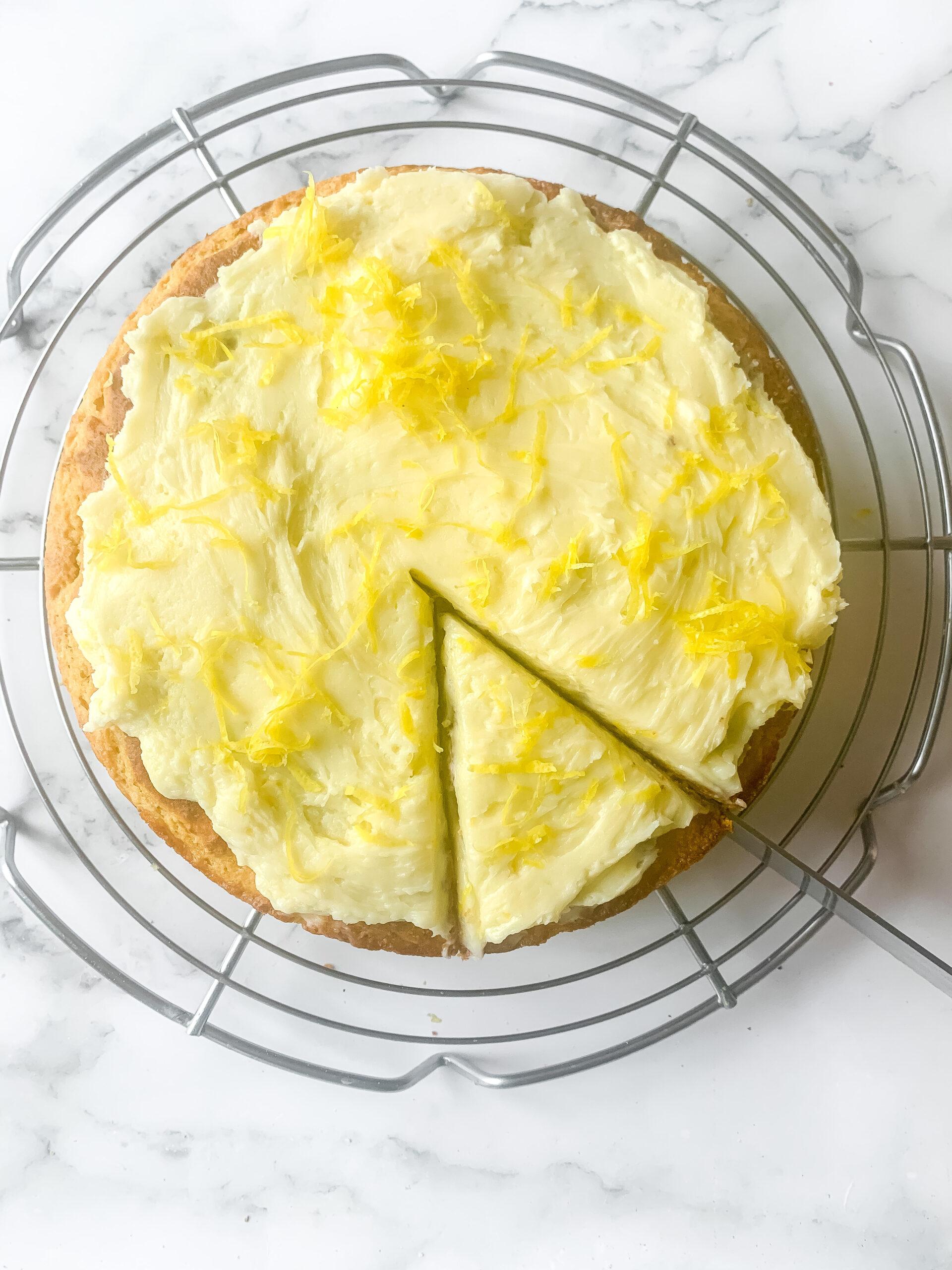 Lemon Yogurt Cake (Gluten free, Oil Free + Butter Free Option)