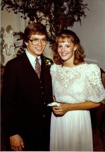 Wedding reception. 1983.