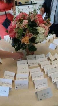 Our place cards.