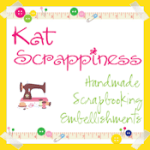 Kat Scrappiness - Handmade Felt, Fabric and Paper Die Cut Scrapbooking Embellishments