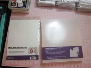 EZ Mount Stamp Storager Binders and Binder Pages