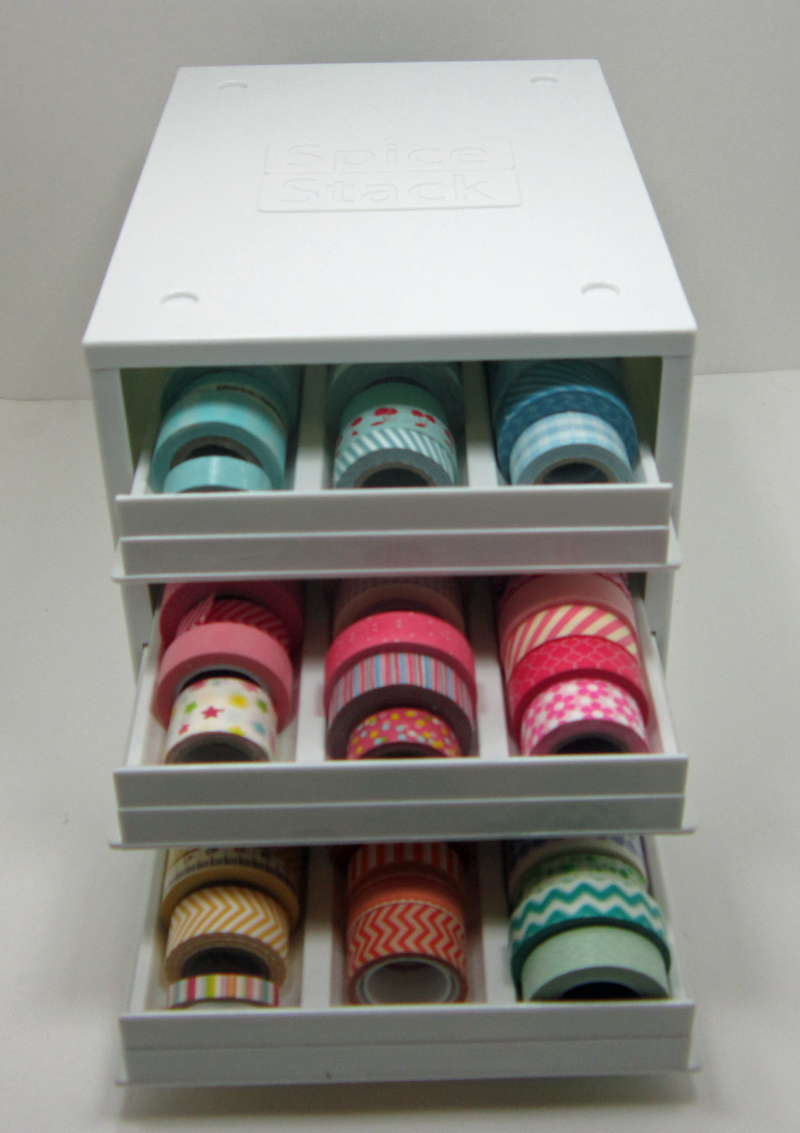 New Washi Storage Yes Another Some Cards To Share Copics For