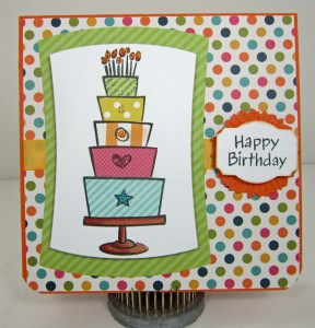 Lawn Fawn's Bake a Cake Stamp Set