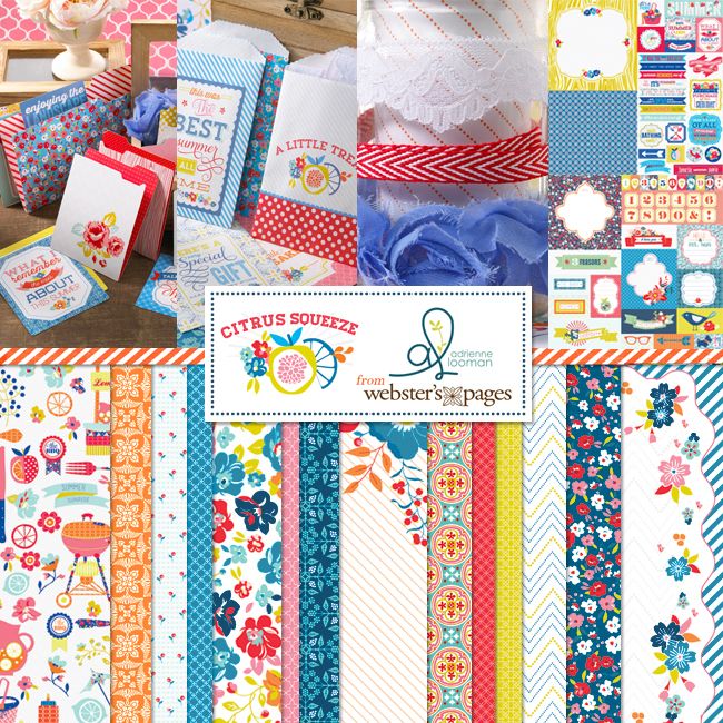Citrus Squeeze collection by Webster's Pages